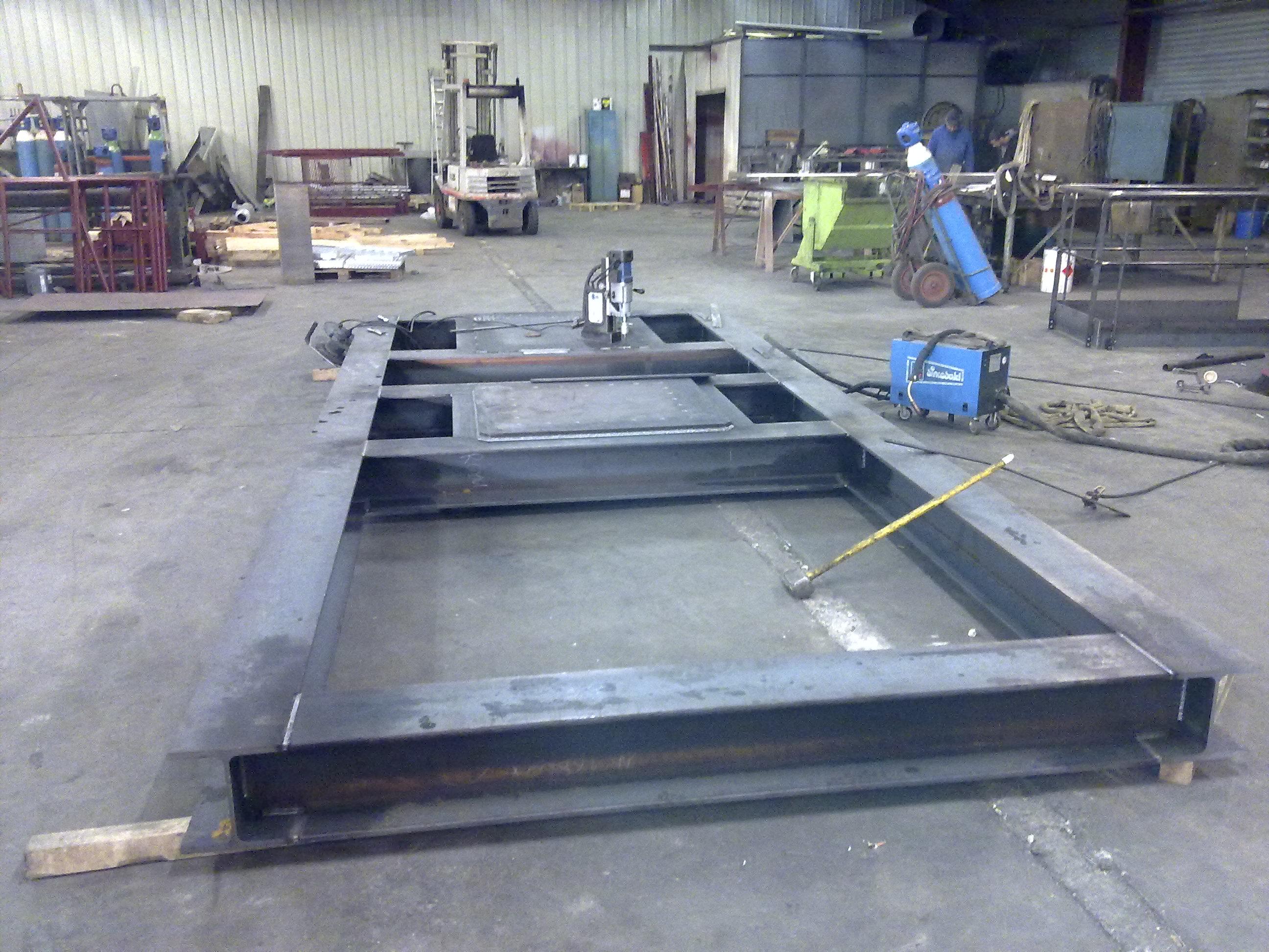 Fabrication tms techniques maintenances soudure - Machine de fabrication de treillis a souder ...